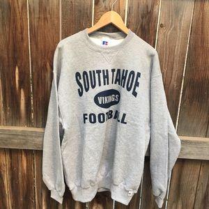 NWT SOUTH TAHOE VIKINGS FOOTBALL SWEATSHIRT